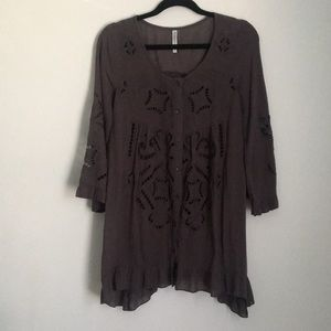Anthropologie Monoreno tunic